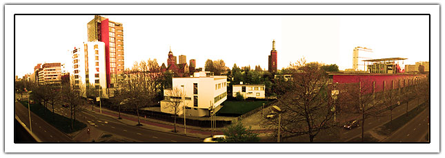 Panorama photo of rotterdam (46Kb)